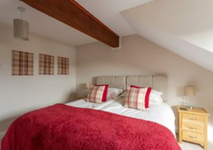 Balmoral bedroom - an oasis of calm beautifully decorated and furnished
