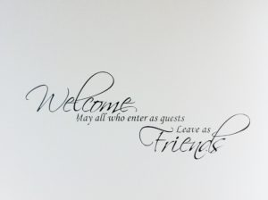 Welcome to all our Guests