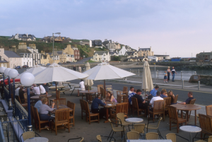 Visit Portpatrick and relax at the Harbourside